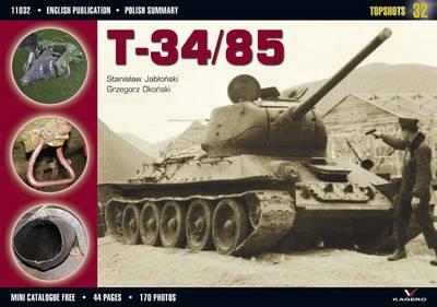 T-34/85 - Topshots (Paperback)