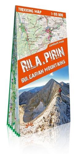 terraQuest Trekking Map Rila and Piryn - trekking map (Sheet map)
