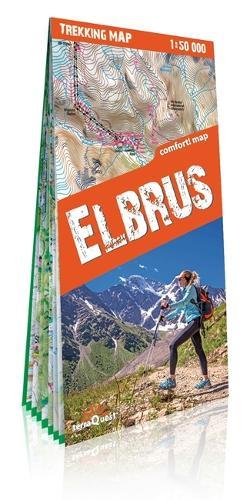 terraQuest Trekking Map Elbrus - trekking map (Sheet map)