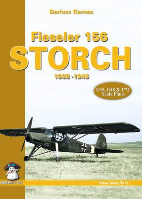 Fieseler 156 Storch 1938-1945 (Paperback)