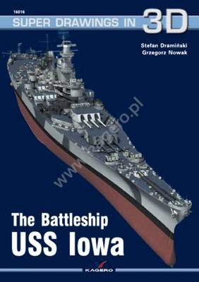The Battleship USS Iowa - Super Drawings in 3D (Paperback)