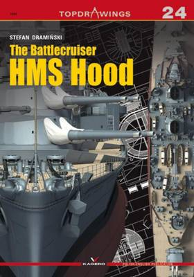 The Battlecruiser HMS Hood - Top Drawings (Paperback)