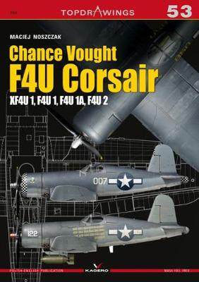Chance Vought F4u Corsair - Top Drawings (Paperback)