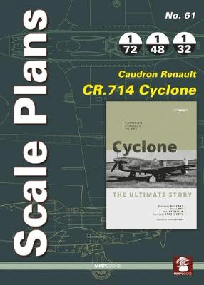Caudron Renault Cr.714 Cyclone - Scale Plans 61 (Paperback)