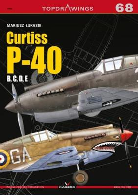 Curtiss P-40 B, C, D, E - TopDrawings (Paperback)