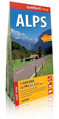 Alps 2014 (Sheet map, folded)