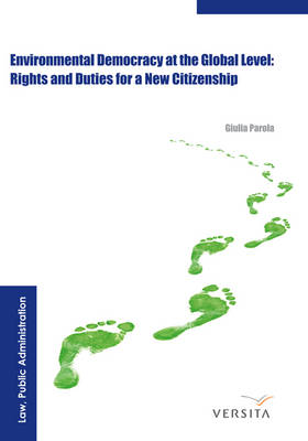 Environmental Democracy at the Global Level:: Rights and Duties for a New Citizenship (Hardback)