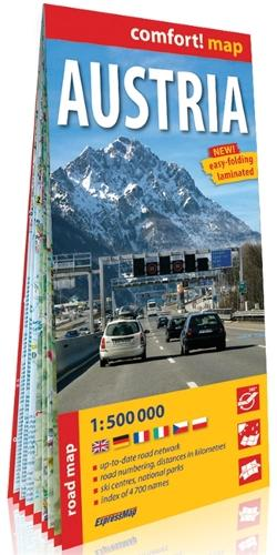 comfort! map Austria - comfort! map (Sheet map)