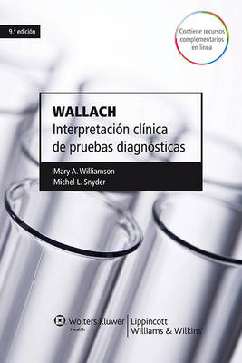 Wallach. Interpretacion clinica de pruebas diagnosticas (Paperback)