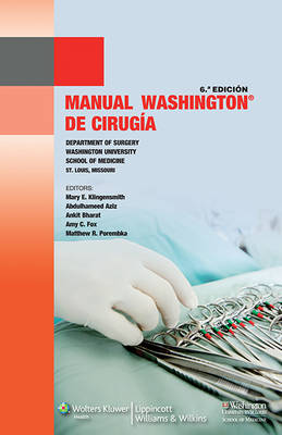 Manual Washington de cirugia (Paperback)
