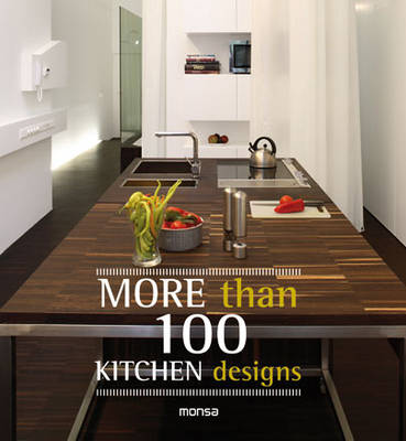 More Than 100 Kitchen Designs (Paperback)