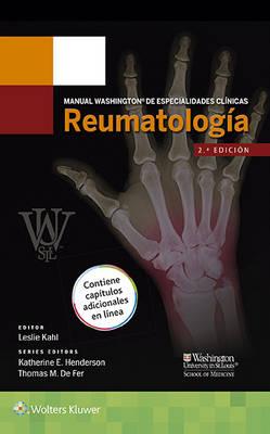 Manual Washington de especialidades clinicas. Reumatologia (Paperback)
