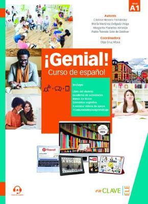 Genial!: Libro del alumno y Cuaderno de actividades 1 (A1) + audio descargabl (Paperback)