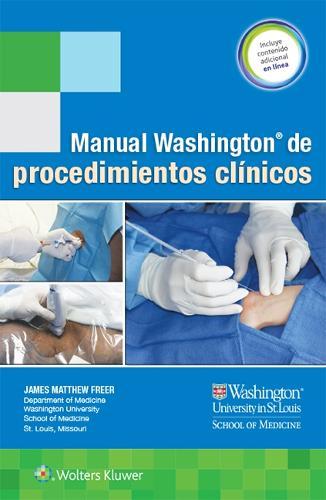 Manual Washington de procedimientos clinicos (Spiral bound)