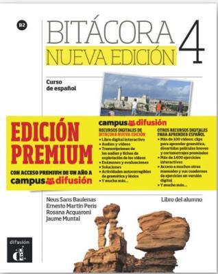Bitacora - Nueva edicion: Libro del alumno + MP3 descargable 4 (B2) - EDICI\ (Paperback)