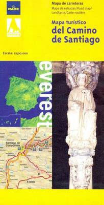 Tourist Map of Camino De Santiago (Paperback)