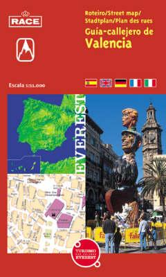 Street Map of Valencia (Spiral bound)