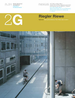 Riegler Riewe - 2G: International Architecture Review Series Issue 31 (Paperback)