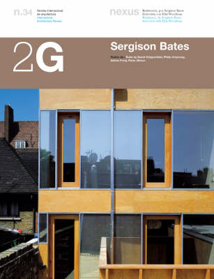 Sergison Bates - 2G: International Architecture Review Series 34 (Paperback)