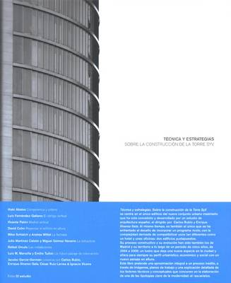 Technique & Strategies: On the Construction of the SYV Tower (Paperback)