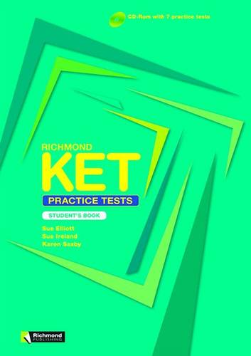 Richmond KET Practice Student's Book & CD-ROM (Board book)