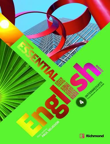 Essential English 4 Student's Pack (Book & CD-ROM) Intermediate (Board book)