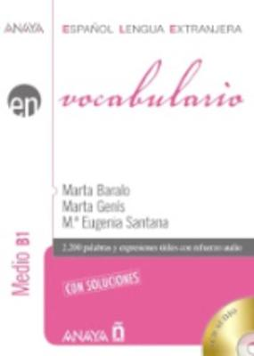 Anaya Ele En Collection: Vocabulario - Nivel Medio B1 Con Soluciones + CD - New Edition