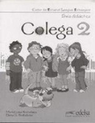 Colega: Guia didactica 2 (Paperback)