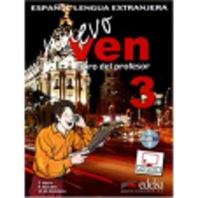 Nuevo Ven: Libro del profesor 3 + CD