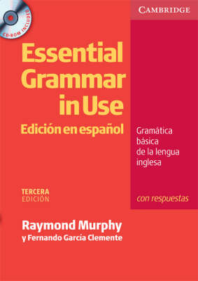 Essential Grammar in Use Spanish Edition with Answers and CD-ROM