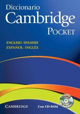 Diccionario Bilingue Cambridge Spanish-English with CD-ROM Pocket Edition