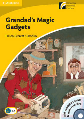 Grandad's Magic Gadgets Level 2 Elementary/Lower-Intermediate Book with CD-ROM and Audio CD Pack