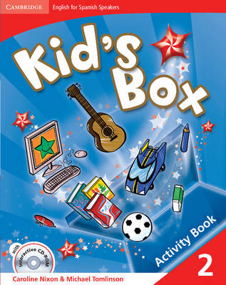Kid's Box for Spanish Speakers Level 2 Activity Book with Cd-rom and Language Portfolio