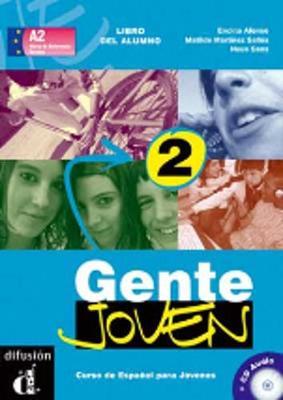 Gente Joven: Libro Del Alumno + CD 2