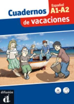 Cuadernos de vacaciones: Libro + CD A1-A2