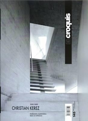 Christian Kerez: El Croquis 145 (Paperback)