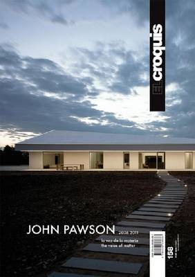 El Croquis 158 - John Pawson 2006-2011. the Voice of Matter (Paperback)