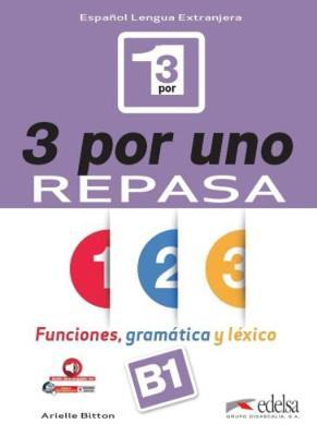 3 por uno: Libro del alumno + audio download (B1) (Paperback)