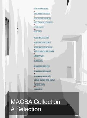 Macba Collection: A Selection (Hardback)