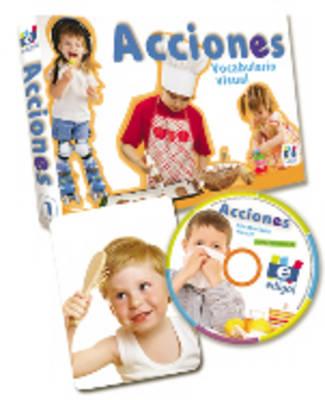 Fichas De Vocabulario Visual (Vocab Flashcards with Interactive CD): Acciones (40 Cards + CD)