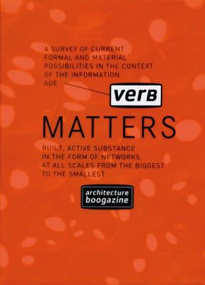 Verb Matters - Architecture Boogazine S. (Paperback)