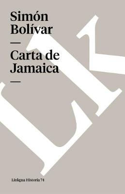 Carta de Jamaica - Memoria (Paperback)