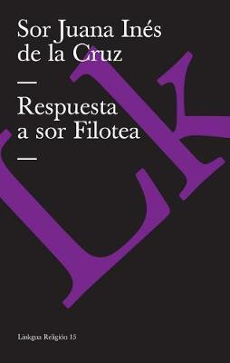 Respuesta a sor Filotea - Religion (Paperback)