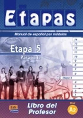 Etapa 5 Pasaporte: Tutor Book (Paperback)