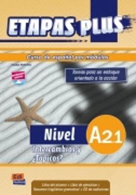 Etapas Plus A2.1: Student Book + Exercises + CD