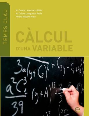 Calcul D'una Variable (Paperback)