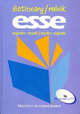ESSE English-Serbian and Serbian-English Dictionary (Hardback)