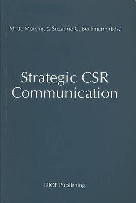 Strategic CSR Communication (Paperback)