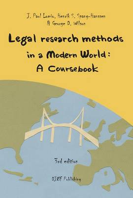 Legal Research Methods in a Modern World (Paperback)