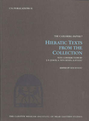Hieratic Texts from the Collection (Hardback)